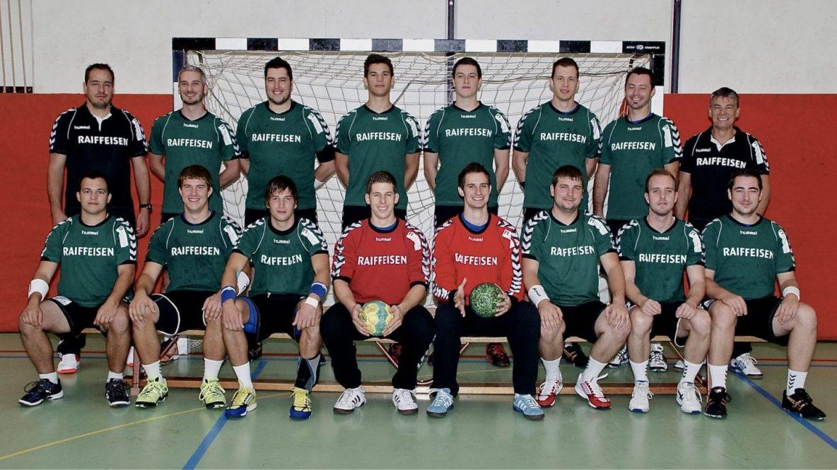 Mannschaftsfoto Handball I - Saison 2012/2013