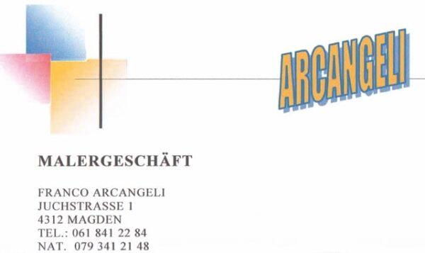 Arcangeli Malergeschäft Logo