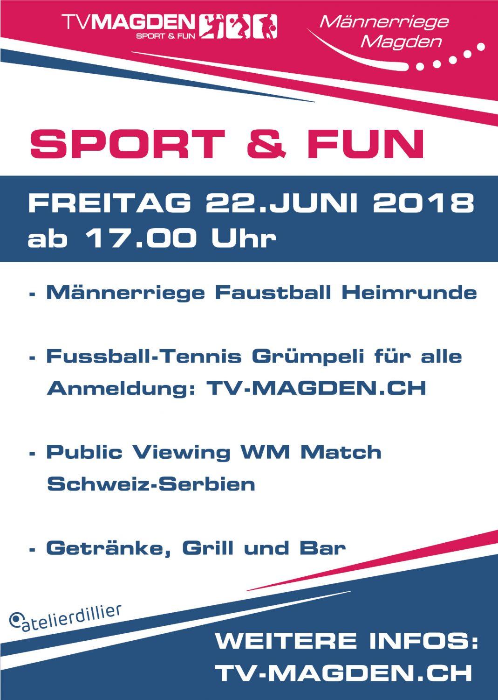 Sport & Fun Grümpeli 2018
